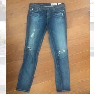 AG Jeans Super Skinny - the Legging 25R